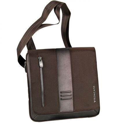 Roncato Heritage Flap Bag 26 cm, bronzo brown