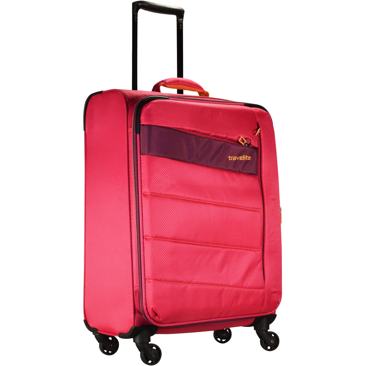 travelite kite 4 rollen kofferset 4tlg pink karstadt. Black Bedroom Furniture Sets. Home Design Ideas