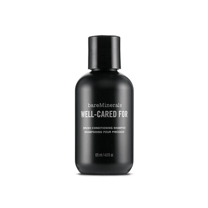 bareMinerals Well-Cared For Brush Conditioning Shampoo, Pflegendes Pinselshampoo, 120 ml