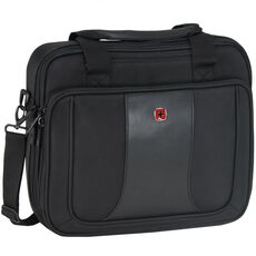 Wenger Single Compartment Brief Laptoptasche 38 cm, schwarz