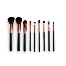 Nude by Nature Brush Set, Pinselset, 9-teilig
