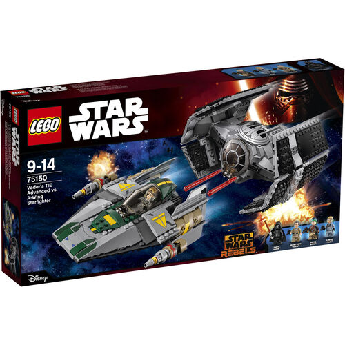 LEGO® Star Wars™ 75150 Vader´s TIE Advanced vs....