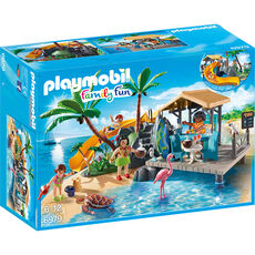 PLAYMOBIL® Family Fun 6979 Karibikinsel mit Strandbar