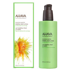 Ahava Mineral Body Lotion Prickly Pear & Moringa, Körpercreme, 250 ml