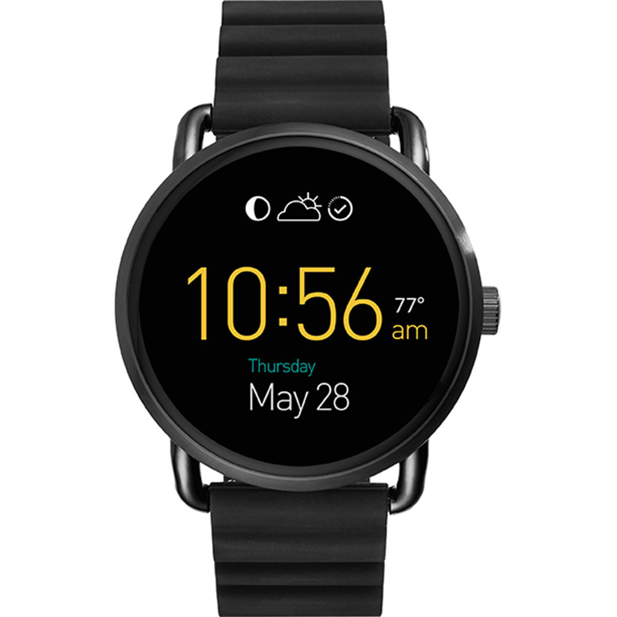 fossil q damen smartwatch q wander ftw2103 karstadt. Black Bedroom Furniture Sets. Home Design Ideas