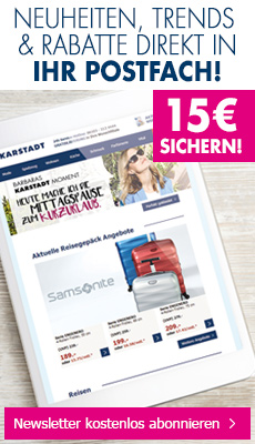 Karstadt Newsletter
