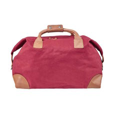 BUTLERS TRAVELLER Canvas Tasche, Bordeaux