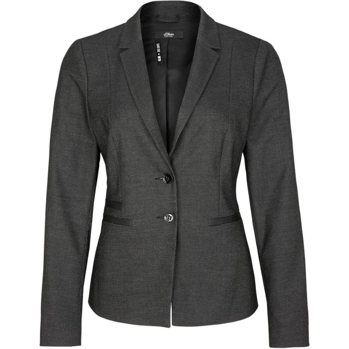 huge selection of 5acf1 d5bff Damen Blazer, dunkelgrau, 40