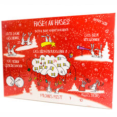 Accentra Adventskalender Bath & Body Hase 1 an Hase 2