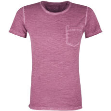 QS by s.Oliver Herren T-Shirt im Used Look