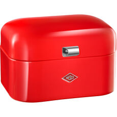 Wesco Brotbox Single Grandy mit Rollenhalter, rot