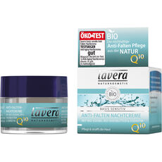 Lavera Basis Sensitiv Anti-Falten Nachtcreme Q10