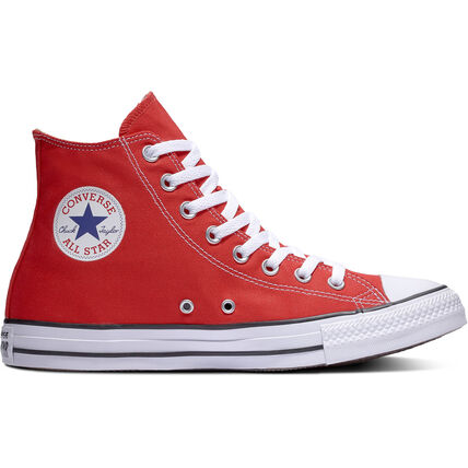 Damen Sneaker Chuck Taylor All Star High Top, rot/weiß, 37