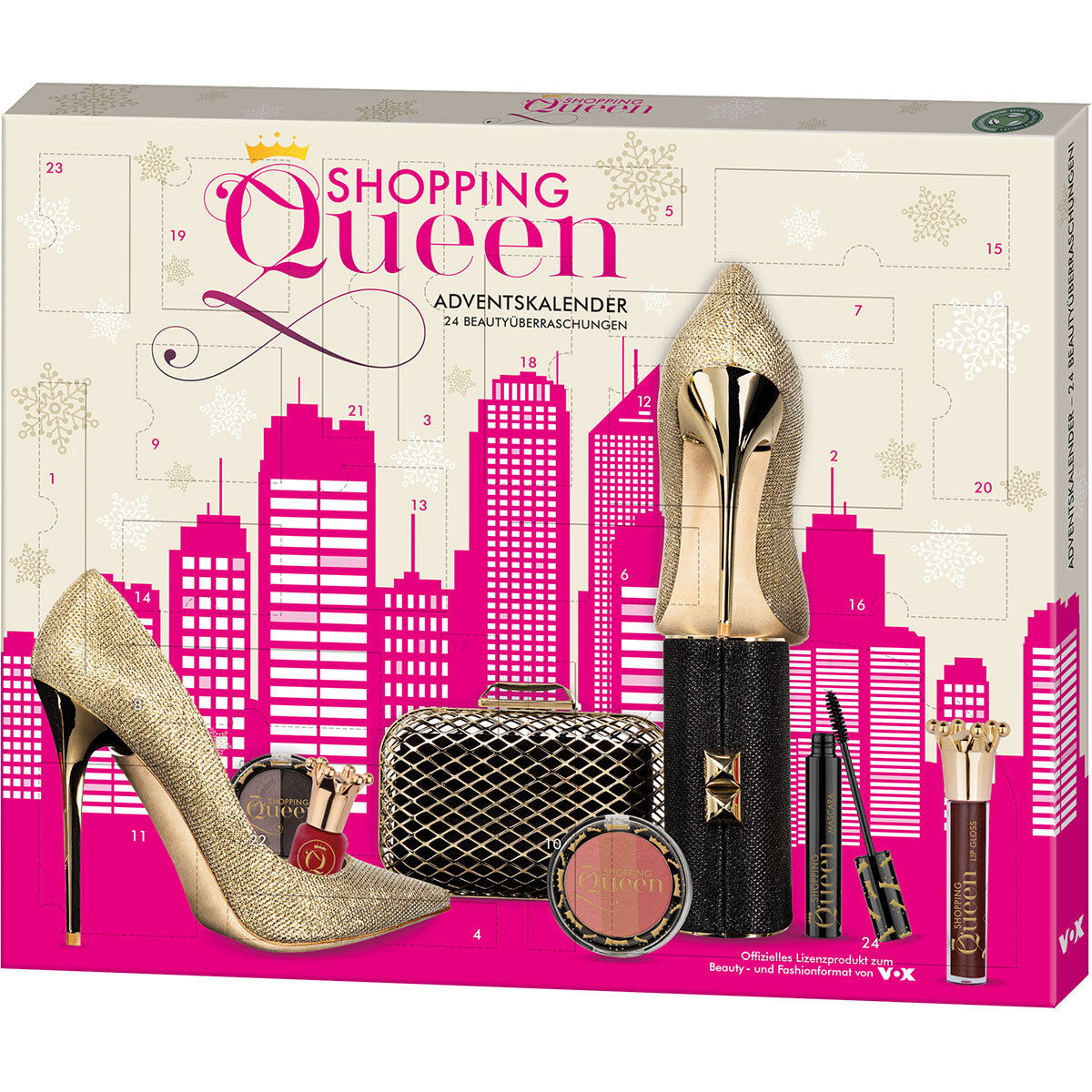 Karstadt Weihnachtskalender.Shopping Queen Beauty Adventskalender