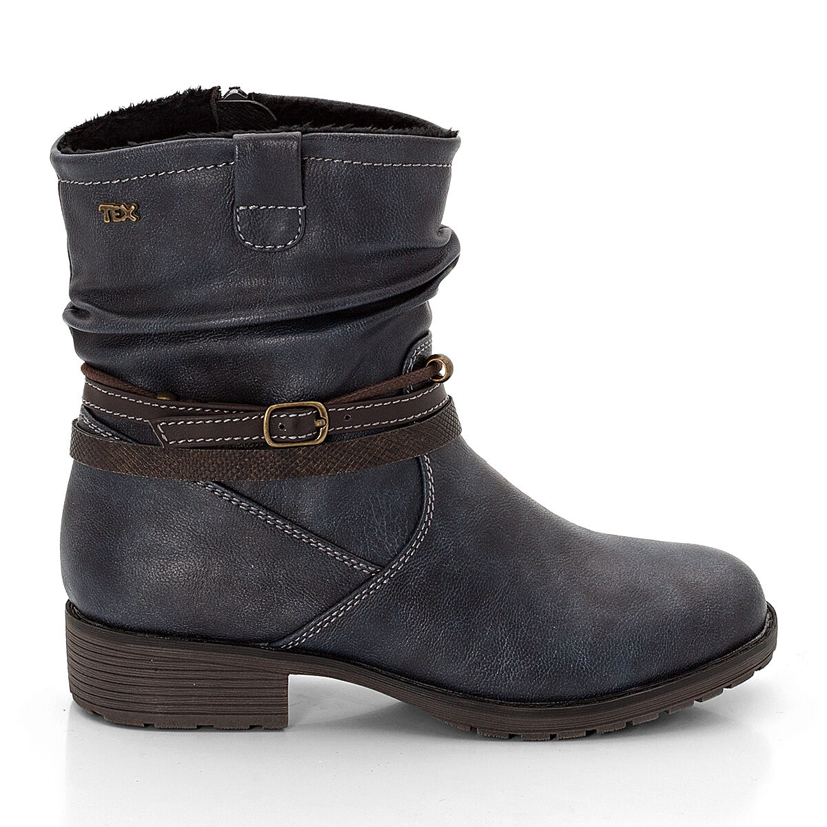 sneakers for cheap d001f 036d3 Mädchen Stiefel mit Appikationen, navy, 37