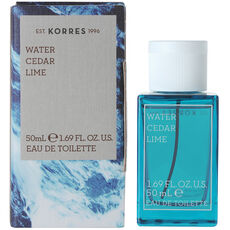 Korres Water Cedar Lime, Eau de Toilette, 50 ml