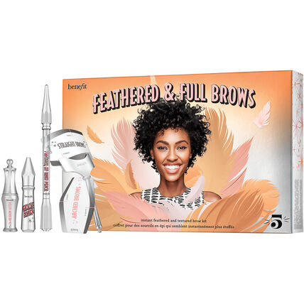 Benefit Feathered & Full Brows, Augenbrauen-Set