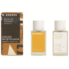 Korres White Tea Bergamot Freesia, Eau de Toilette, 50 ml