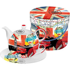 ppd Tea-4-one-Set Very British