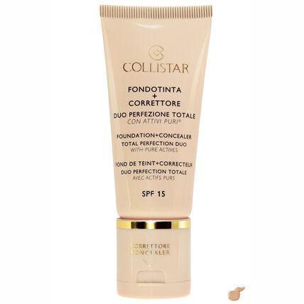 Collistar Face Foundation + Concealer Duo, LSF 15