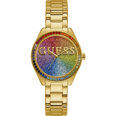 "Guess Damenuhr Glitter Girl ""W0987L5"""