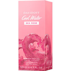 Davidoff Cool Water Woman Sea Rose, Eau de Toilette, Summer Edition, 100 ml