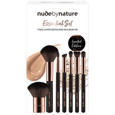 Nude by Nature Pinselset Essentail Collection, 7-teilig