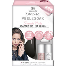 Alessandro Striplac Peel or Soak Starter Kit, French Rosé