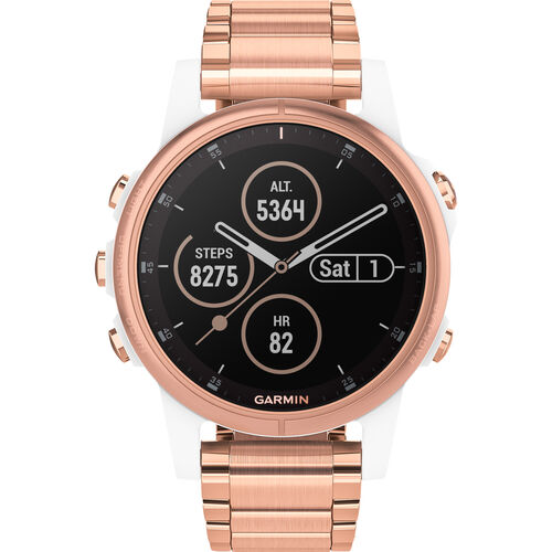 Damen Smartwatch fenix® 5S Plus Sapphire ´´010-01987-11´´ | Uhren > Smartwatches | Garmin