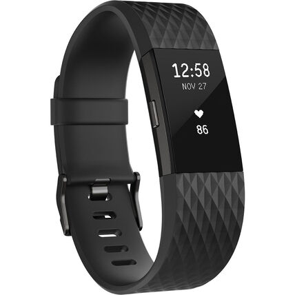 """fitbit Smartwatch Charge 2 Large """"FB407GMBKL-EU"""""""