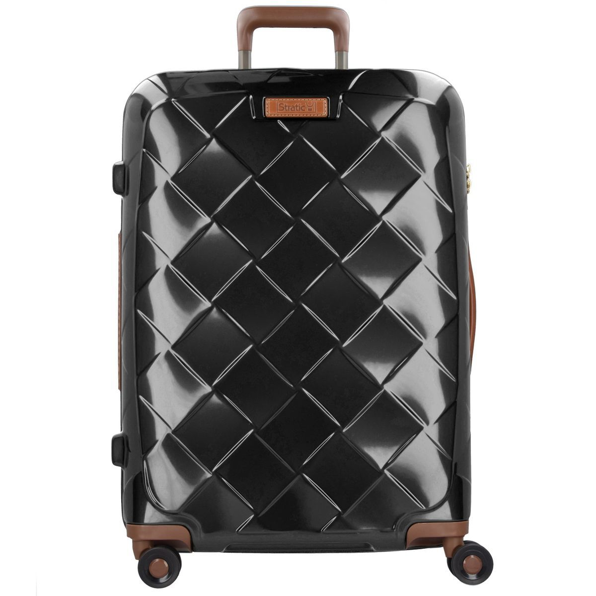 Leather & More 4-Rollen-Trolley 76 cm - black Stratic 5OdqIwq
