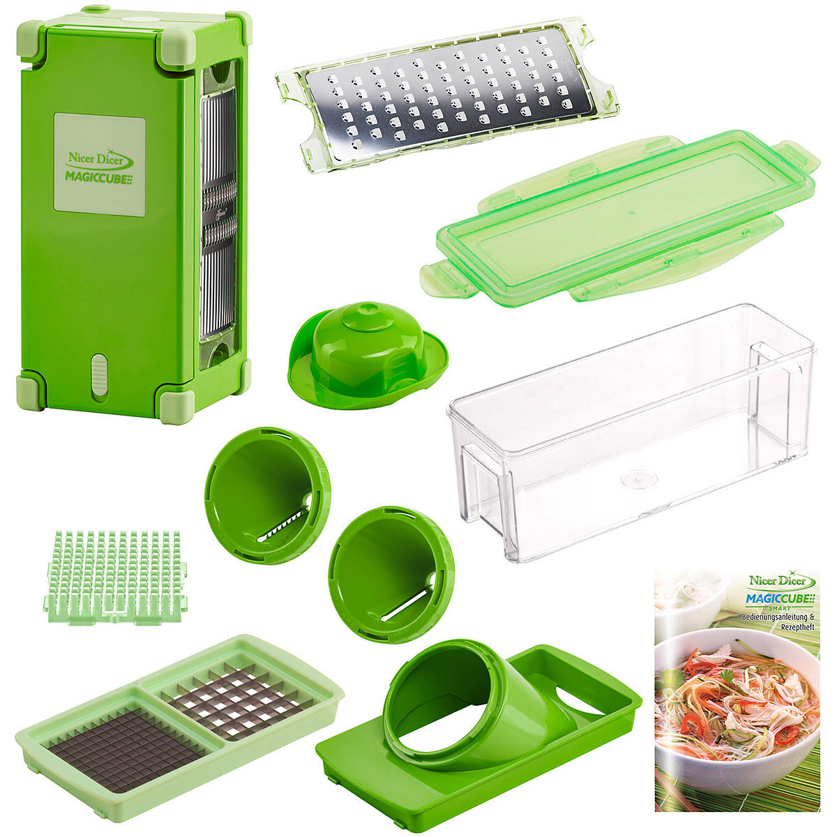 genius nicer dicer magic cube big 12 teilig karstadt online shop. Black Bedroom Furniture Sets. Home Design Ideas