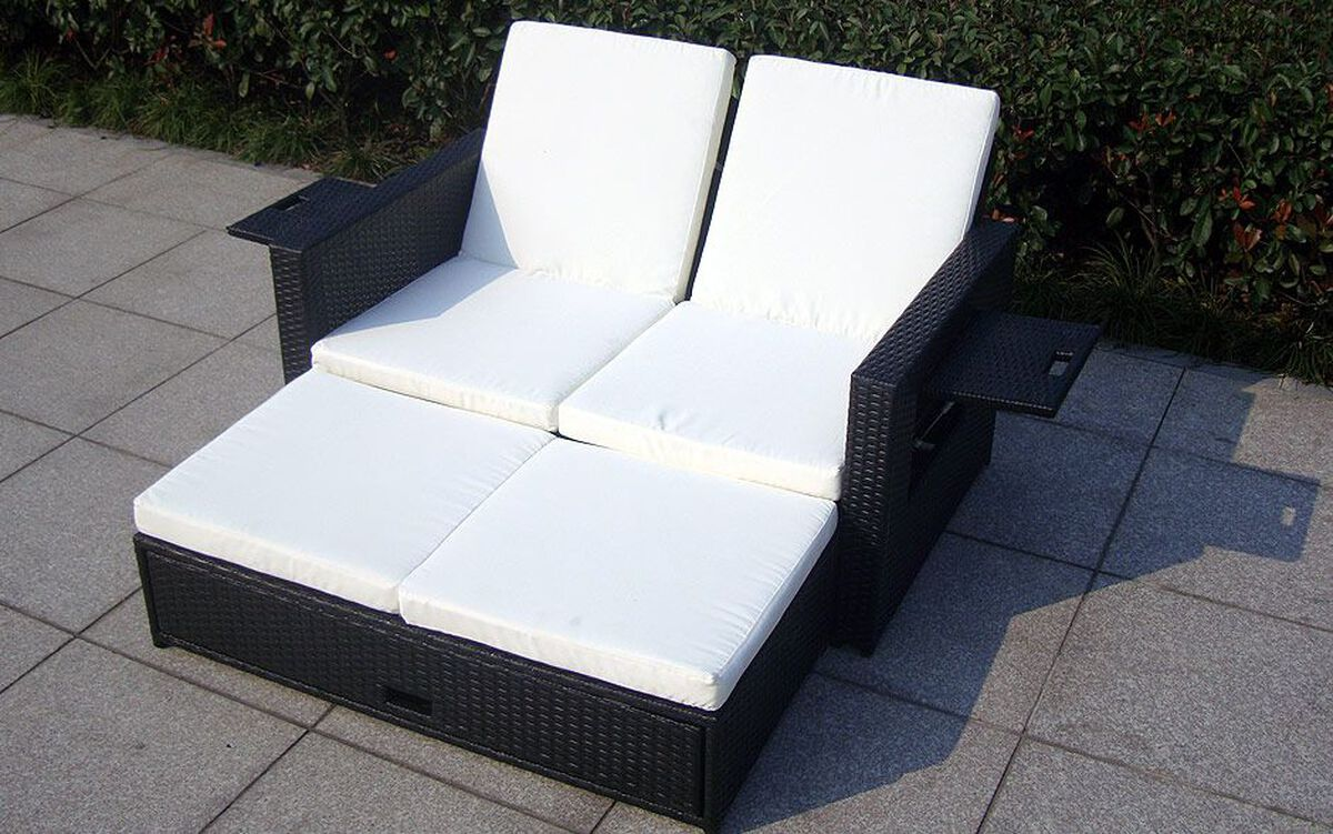 baidani rattan garten lounge doppel liege harmony karstadt online shop. Black Bedroom Furniture Sets. Home Design Ideas