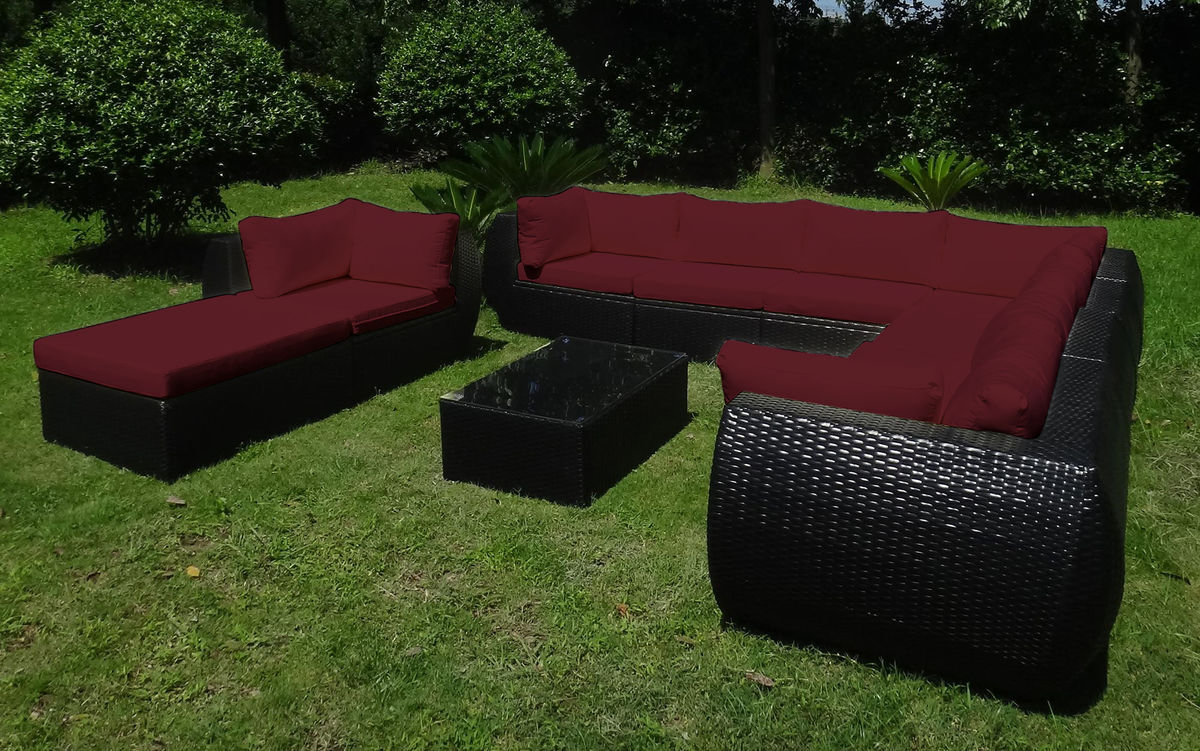 baidani rattan garten lounge freedom select integrierter stauraum rattan schwarz meliert. Black Bedroom Furniture Sets. Home Design Ideas