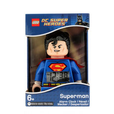 LEGO® DC Super Heroes Figurenwecker Superman 9005701