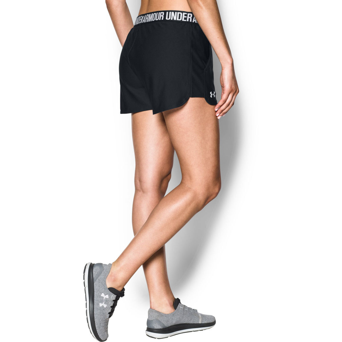 under armour damen shorts play up 2 0 schwarz s karstadt. Black Bedroom Furniture Sets. Home Design Ideas