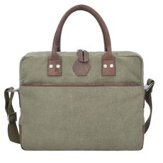 Epic Naturals Aktentasche 38 cm Laptopfach, olive