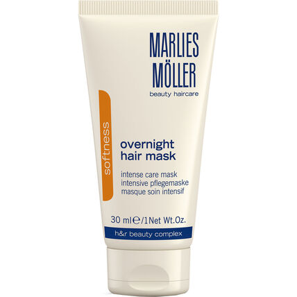 Marlies Möller Softness, Overnight, Hair Mask, 30 ml