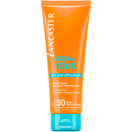 Lancaster Sun Kids Comfort Cream Wet Skin SPF 50, 125 ml