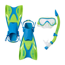 Aqua Lung Kinder Schnorchel-Set 3er Coral Jr. 27-32