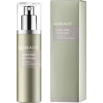 M2 Beauté Ultra Pure Solutions, Vitamin C Facial Nano Spray, 75 ml