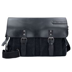 Greenburry Black Sails Messenger Bag 41 cm Laptopfach, black