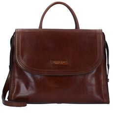The Bridge Pearldistrict Handtasche Leder 36 cm, marrone