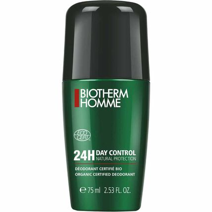 Biotherm Homme Day Control Natural Protection, Deodorant Roll-On, 75 ml