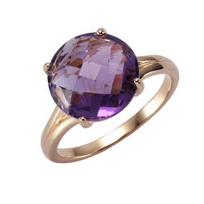 Zeeme Gemstones Ring 925/- Sterling Silber Amethyst