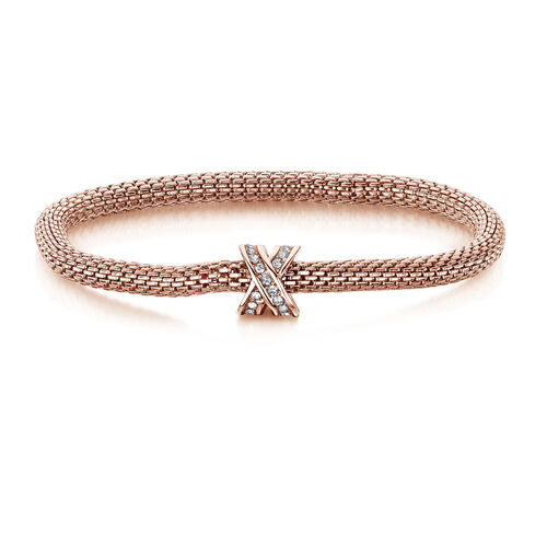 Buckley London Damen Armband, rosévergoldet | Schmuck > Armbänder > Goldarmbänder | Buckley London
