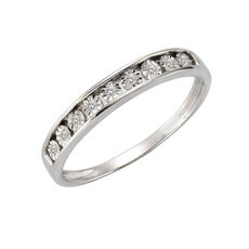 Celesta Diamonds Ring 925/- Silber 9xDiamant