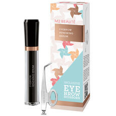 M2 Beauté Eyebrow Renewing Serum mit Augenbrauen Schere, 5 ml