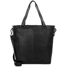 The Chesterfield Brand Jade Shopper Tasche Leder 35 cm, black