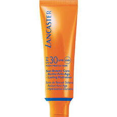 Lancaster Sun Beauty Care, Velvet Touch Cream Radiant Tan SPF 30, Sonnencreme, 50 ml